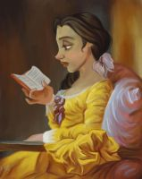 The Reader : Belle by TottieWoodstock