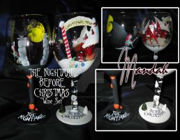 Nightmare Before Christmas Set by ForesakenFaerie