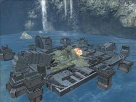Halo Reach Map: IR3CON RAMPAGE by KindiChan