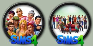 The Sims 4 Icons by kodiak-caine
