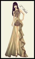 Fashion Design Dress 5. by TwISHH