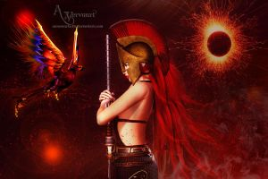 Warrior type 7 by annemaria48