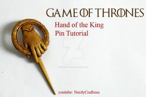 Game of Thrones Pin by NerdEcrafter