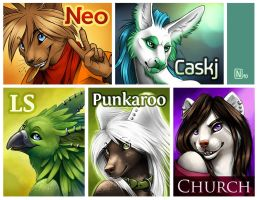 Five Badges - 02 - by Nimrais