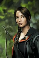 Katniss II by MartaDeWinter