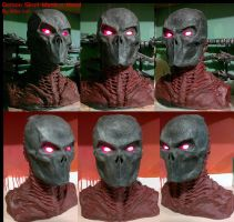Demon Mask N Hood Prototype by Uratz-Studios