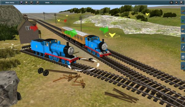 Branchline Route (Start) by demarm1youtube