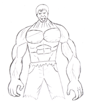 The Incredible Hulk by Ink20