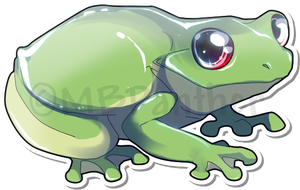 Frog by MBPanther