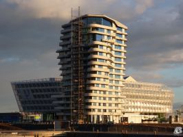Marco Polo Tower Hamburg by IndianRain