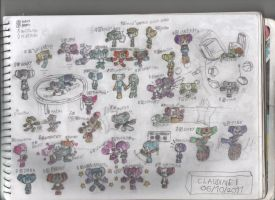 All of Robotboy OCs Pt 1 of 3 by claudinei230