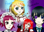 Black butler characters ((this is a very old** by Batgirl12309