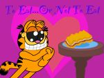 Garfield loves lasagna by ThisGirlNamedAngie