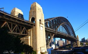 under Harbour bridge by Zlata-Petal