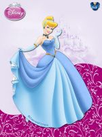 DisneyPrincess -CinderellaByGF by GFantasy92