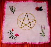 Ritual Candle Cloth by Anariel-Erestor