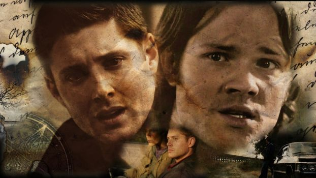 Sam and Dean Burned History by Muse-13