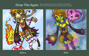 Contest 2012 Draw this Again Challenge by MeoAgcat