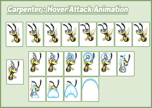 Carpenter Bee Animation by CWSSoftware