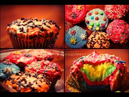 """ Cup Cake , by el7rf-el3need"