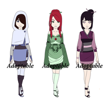 Naruto adoptables  - CLOSED by BianSher