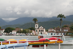 View of Paraty by Ilovetodraw