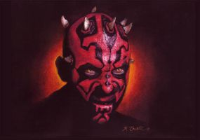 Darth Maul by ktalbot
