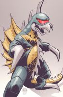 Gigan - Commish by EryckWebbGraphics