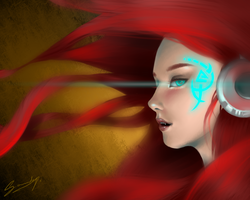 Blood-red by Tuffen