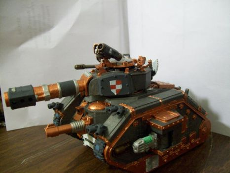 tank hunter finished side 2 by Aarno-vose