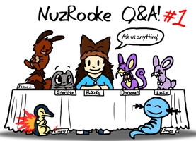 NuzRooke Question and Answer 1 NOW CLOSED by DragonwolfRooke