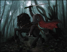 the headless horseman. by black-angel1992
