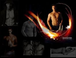 jensen ackles shirtless by finaldreams7