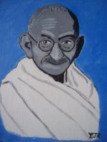 GANDHI III by EAMONREILLYDOTC by Gandhi-Club