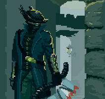Pixelated Bloodborne by cannonbreed