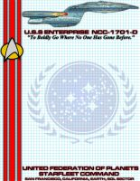USS Enterprise D Stationary by viperaviator
