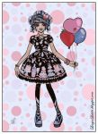 .:Party with balloons:. by Louyse