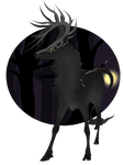 Hemlock | Stag | Aspiring Ghoulcaller by HaniHunni