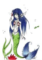Mermaid of the Deep by collogethecat