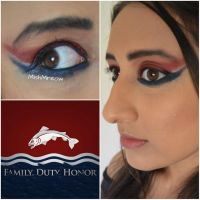 Game of Thrones Makeup Series - House Tully by MishMreow