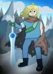 Finn the Human Adult (redo) by damaster17