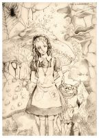 Alice in Wonderland by KannyMOs