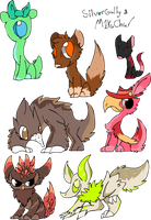 Collab adopts by SilverGully