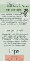 GIMP Tutorial: Lips by Xadrea