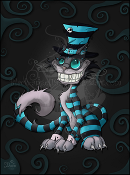 Cheshire Cat - Tim Burton by black-angel1992