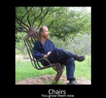 Tree chair motivational by Serpent1212