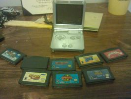 Gameboy Advance Collection by RockyToonz93