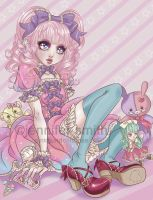 Sweet Lolita by liveloveburndie