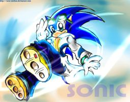 Sonic Rider-Ala Air gear by Nero-Taichou