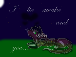 I lie awake and miss you... by Multisheeplover